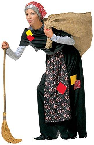Imagen de señoras vieja bruja traje medio reino unido 10 12 para los disfraces de halloween