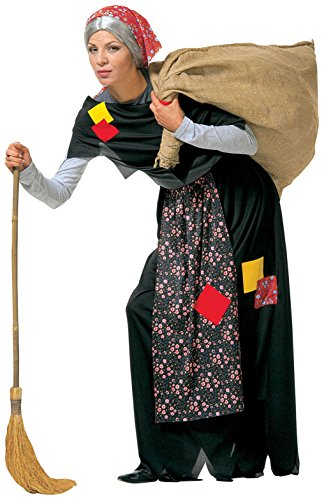Alte Hexe Kostüm für Damen (Halloween Sport Kostüm Ideen)