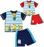 Unbekannt 2 TLG. Set: T-Shirt & Kurze Hose -  Minions - Ich einfach unverbesserlich  - Größe 6 bis 7 Jahre - Gr. 122 bis 128 - als Pyjama / Sommerset / Strandbekleidu..
