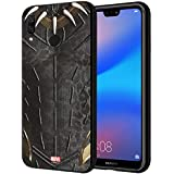 CellKraft 101200 Licensed Marvel Black Panther Hard Back Case Mobile Cover for Redmi 6 Pro (Multicolor)