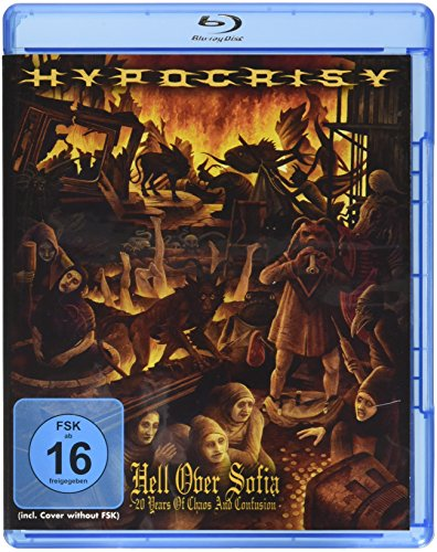 Hypocrisy - Hell Over Sofia: 20 Years of Chaos And Confusion [Blu-ray] [Edizione: Regno Unito]