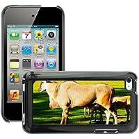 hello-mobile Carcasa Funda Prima Delgada SLIM Casa Case Bandera Cover Shell para // M00137509 Common Eland Antelope Animali Natura // Apple ipod Touch 4 4G 4th