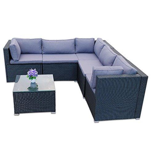 Ssitg Polyrattan Gartenmöbel Rattan Set Sitzgruppe Lounge