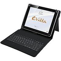 """E-Vitta Keytab - Funda con teclado para tablet de 10.1"""", USB, color negro"""
