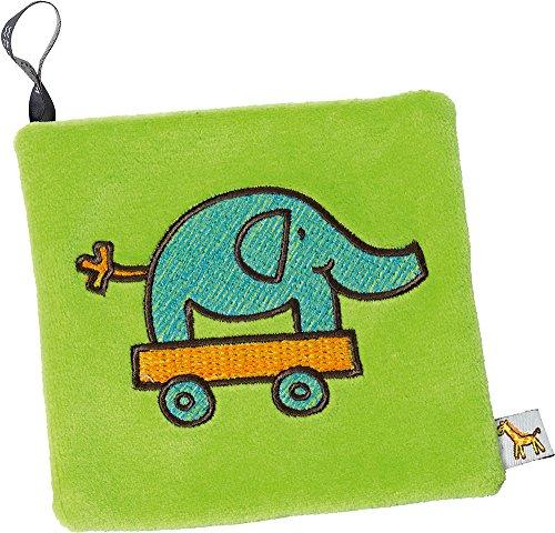 Fashy Rapssamen-Kissen Elefant, 15 x 15 cm, 1er Pack (1 x 1 Stück)