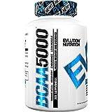 Evlution Nutrition BCAA 5000 | Tablettiertes Aminosäuren Ergänzungsmittel Mit 5 Gramm Premium BCAA | Packung Mit 240 Kapseln
