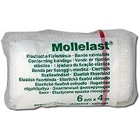 MOLLELAST Binden 6 cmx4 m weiß 1 St Binden preisvergleich bei billige-tabletten.eu