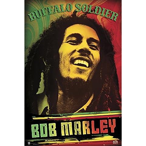 GB Eye Ltd - Maxi poster di Bob Marley, motivo