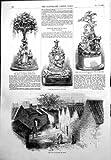 Placez la caisse d'horloge de canton d'exécution John Bell 1855