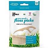 Humble Natural Dental Floss Picks - Flossers - Zahnseidensticks - 4 x 50er Pack