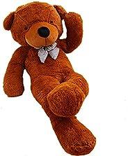 24 inch Big Cute Teddy Bear Plush Animals for Girl Children Girlfriend Valentine's Day White 60cm (Dark Br