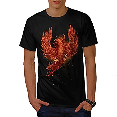 Mythical Fire Bird Men M T-shirt |