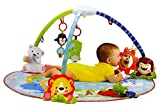 Olly Polly kids imported high quality Musical Baby Gym, Toddler Infant Play Mat Multi Color gift toy with Extra Large Mat