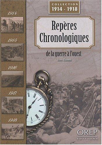 Repères chronologiques de la guerre à l'ouest
