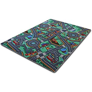 Children's Play Mat - My Town - 4 sizes available by Floori Carpets