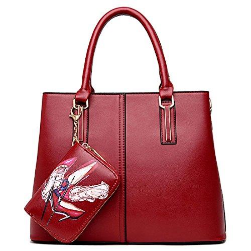 HT Ladies Handbag, Borsa tote donna Black