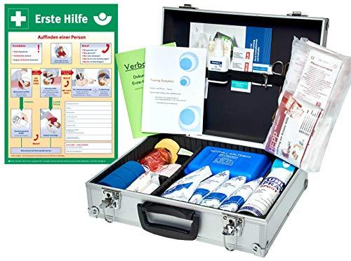 WM-Teamsport Sport-Betreuer-Koffer -Paket 2- zur Behandlung von Sport-Verletzungen INKL. AUSHANG (A3) - Sport-verletzung Behandlung