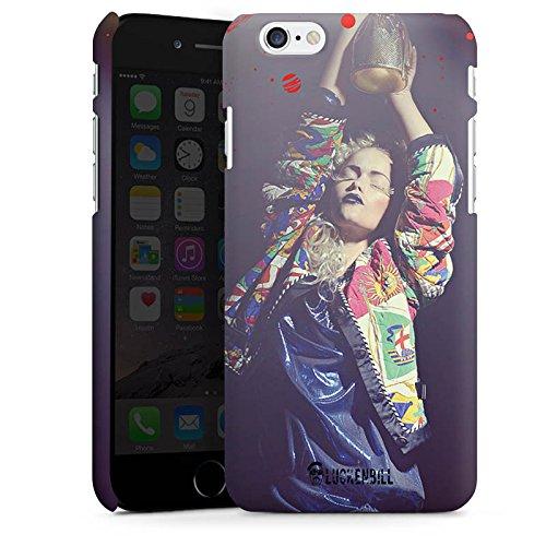 Apple iPhone X Silikon Hülle Case Schutzhülle Frau Jacke Tanzen Premium Case matt