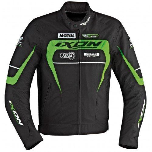 Ixon Blouson Moto Matrix, Vert, Taille M