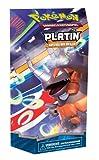Pokémon Company EX25491 - Juego de cartas coleccionables (en alemán), diseño Platino