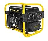 Stanley 604800120 SIG 2000-1 Inverter Stromgenerator, Stomerzeuger 2000 W, 230 V, schwarz/gelb
