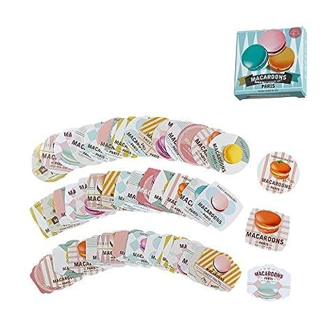 Stickers Macarons - Souarts Mixte Autocollants Scrapbooking Papier Sticker Déco