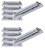 Set di 10 stampi per cannoli (129mm x 25mm), stampo tradizionale...