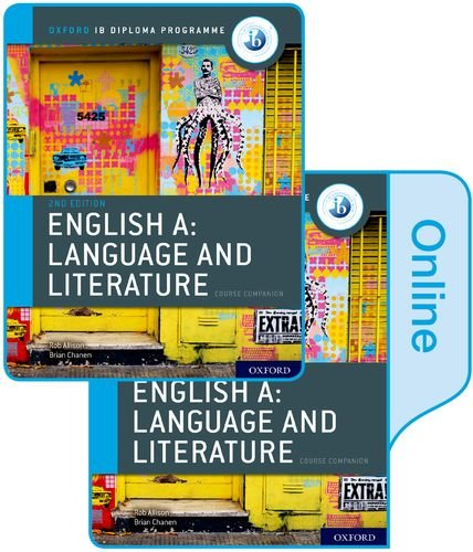 IB English A: Language and Literature Print and Online Course Book Pack