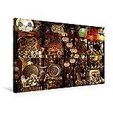 Premium Textil-Leinwand 90 cm x 60 cm quer, Istanbul - Souvenir-Shop | Wandbild, Bild auf Keilrahmen, Fertigbild auf echter Leinwand, Leinwanddruck: nach wie vor eine Reise wert. (CALVENDO Orte)