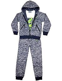 Fashion Boy 3tlg. warmer Jungen Freizeitanzug, Hausanzug, Jogginganzug, JF6033e