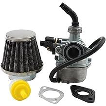 ATV Carburador PZ19+ 35mm Filtro de aire para 50ccm 70Cc 90Ccm 110ccm 125ccm ATV Dirt Pit Bike TAOTAO Honda CRF