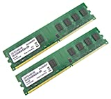 SWISSBIT 4GB (2x 2GB) DDR2 RAM 667MHz PC2-6400 UDIMM [240 Pin] Computer PC Desktop Arbeitsspeicher RAM Memory