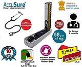 AccuSure Blood Pressure Monitoring Machine 4.2 mm Hg Professional Sphygmomanometer with Upper Arm