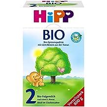 Hipp Orgánica 2 leche de continuación - a partir de 6 meses, 2-pack (2 x 800 g)