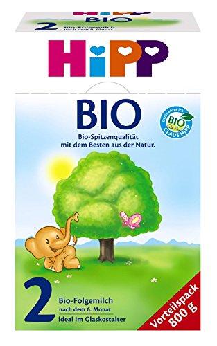 Hipp 2 Bio Folgemilch (9 x 800g)