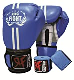 #8: Ring Fight Pro Boxing Gloves & Hand Wrap 180