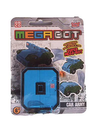 MEGA BOT - MEGABOT GRANDI GIOCHI - CREA IL TUO ROBOT MODELLO NUMERO 0 - CAR ARMY