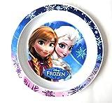 Eiskönigin Frozen flacher Teller aus Melamin (Kunststoff)