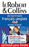 Telecharger Livres Dictionnaire francais anglais Le Robert Collins Niveau avance (PDF,EPUB,MOBI) gratuits en Francaise