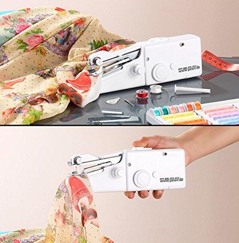 PEARL Mini Nähmaschine: Mini-Handnähmaschine (Kleine Handnähmaschine)