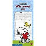 Peanuts Planer für zwei - Kalender 2018