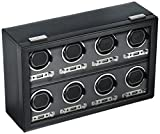 Wolf Designs 456902 Module 2.7 8PC Watch Winder with Cover