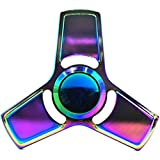 Hand Spinner Stress Relief Toy, coloré en alliage d'aluminium Spinner main EDC Fidget Toy Réducteur de stress Made Bearing Focus Anxiety Relief Toys for Killing Time