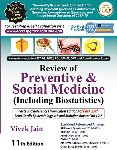 Review of Preventive & Social Medicine (Including Biostatistics)