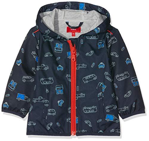s.Oliver Baby-Jungen 59.902.51.5029 Jacke, Blau (Dark Blue AOP 58a8), Herstellergröße: 68