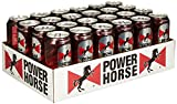 Power Horse Energy Drink Granatapfel, 24er Pack, Einweg (24 x 500ml)