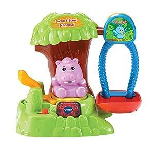 VTech ZoomiZooz Swing & Speel Schommel - Juegos educativos, Niño/niña, 1 año(s), 5 año(s), Holandés, De plástico