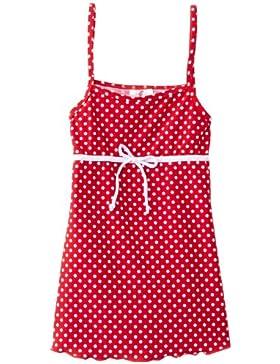 Playshoes Mädchen Bade-Hängerchen in rot mit weißen Punkten, UV-Schutz nach Standard 801 und Oeko-Tex Standard...