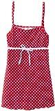 Playshoes Girl's UV Sun Protection Polka Dot Swimming Dress Swimsuit
