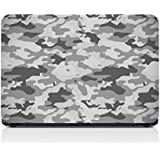 Gadgets WRAP Grey Camo Laptop Decal for 15.6 inch Laptop 15x10